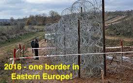 Border Eastern Europe